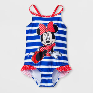 Disney Minnie Mouse Swimsuit Toddler Girl